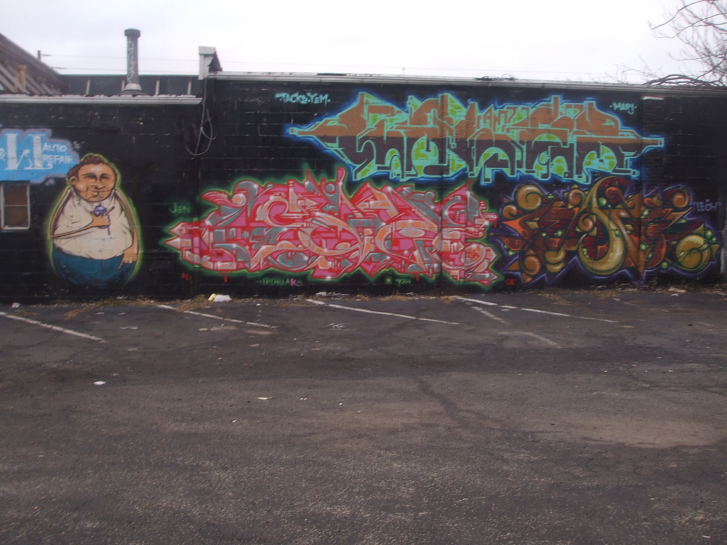 Graffiti art jersey city - Photo From All Cut Up S Flickr