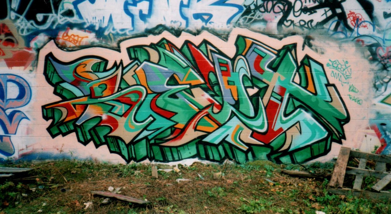 Graffiti Music Characters