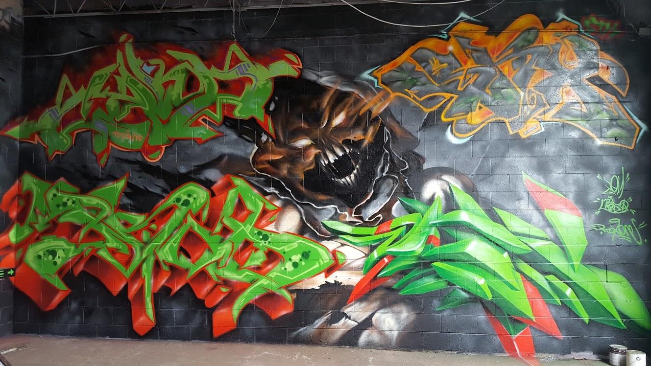 Graffiti art jersey city - Jersey Fresh Jam 2016 Aftermath