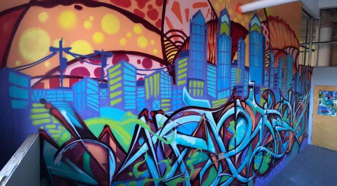 Storiez Studio Mural